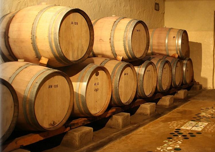 Wine Barrels Bushman Rock
