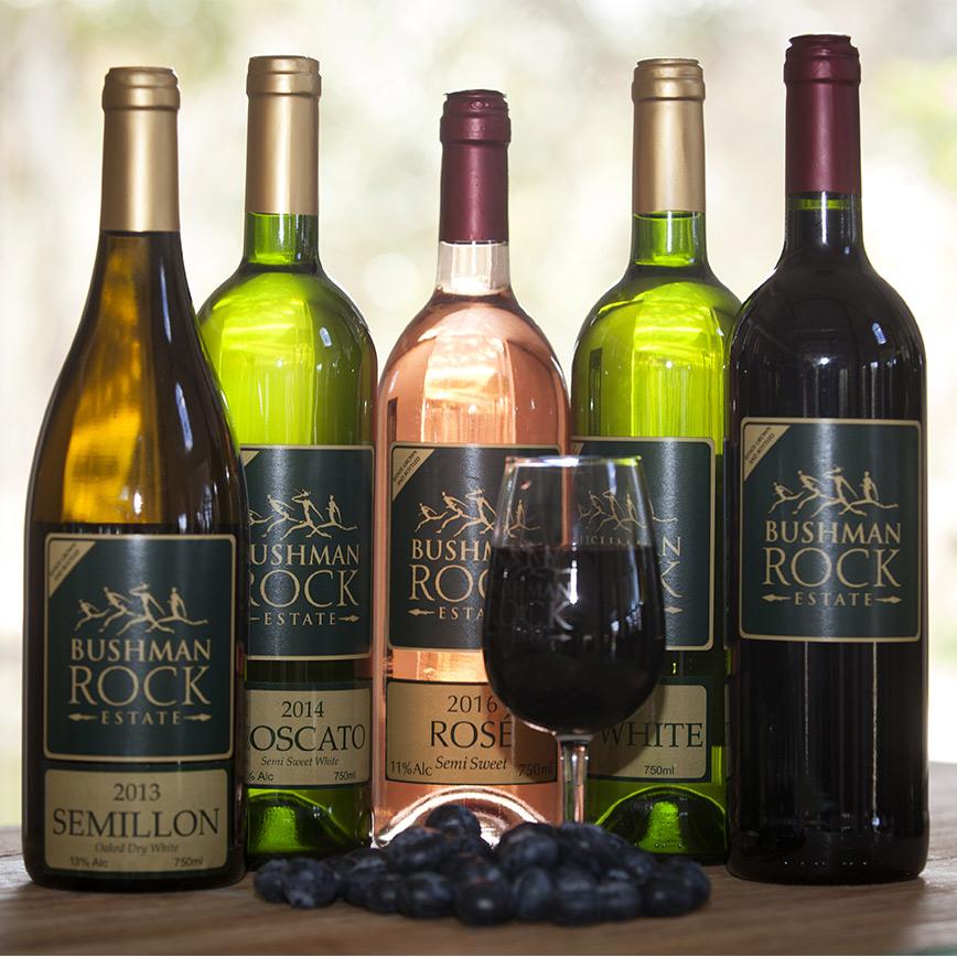 Bushman Rock Wine