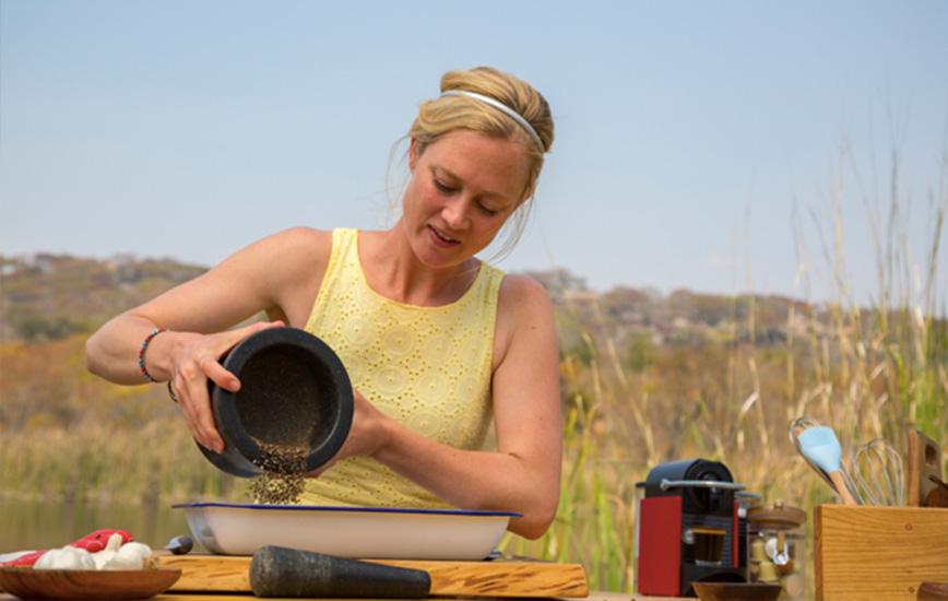 Sarah Graham At Bushman Rock